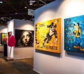 نمایشگاه بین المللی هنر معاصر ART3F 2018 لیون فرانسه