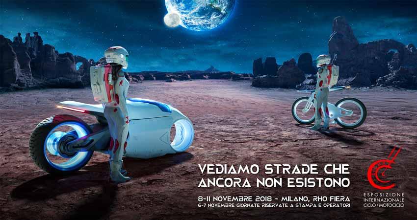 نمایشگاه موتورسیکلت و دوچرخه EICMA 2018 ایتالیا