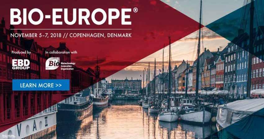 نمایشگاه بیوتکنولوژی BIO-EUROPE 2018 دانمارک