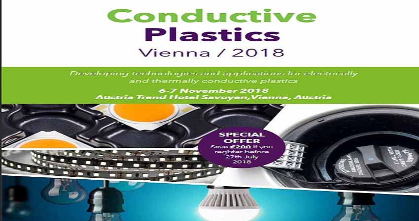 کنفرانس فناوری های کانداکتیو پلاستیک CONDUCTIVE PLASTICS 2018 اتریش