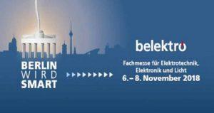 نمایشگاه برق و الکترونیک BELEKTRO 2018 آلمان
