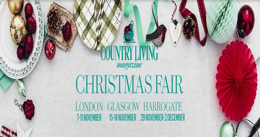 نمایشگاه دکوراسیون COUNTRY LIVING LONDON CHRISTMAS FAIR 2018 انگلستان