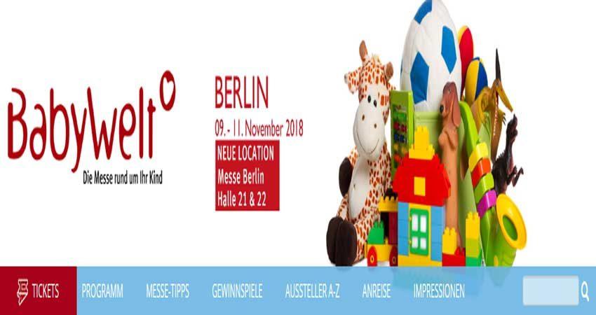 نمایشگاه کودک و لوازم نوزاد BABYWELT BERLIN 2018 آلمان