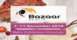 نمایشگاه بین المللی بازارکریسمس BAZAAR BERLIN 2018 آلمان