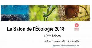 نمایشگاه و کنفرانس محیط زیست SALON DE L'ÉCOLOGIE 2018 فرانسه