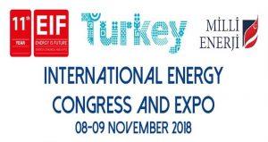 نمایشگاه و کنگره بین المللی انرژی EIF TURKEY 2018 ترکیه