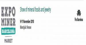 نمایشگاه معدن و فسیل EXPOMINER 2018 اسپانیا