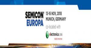 نمایشگاه و کنفرانس تجهیزات الکترونیکی ، نیمه هادی و خدمات SEMICON EUROPA 2018 آلمان