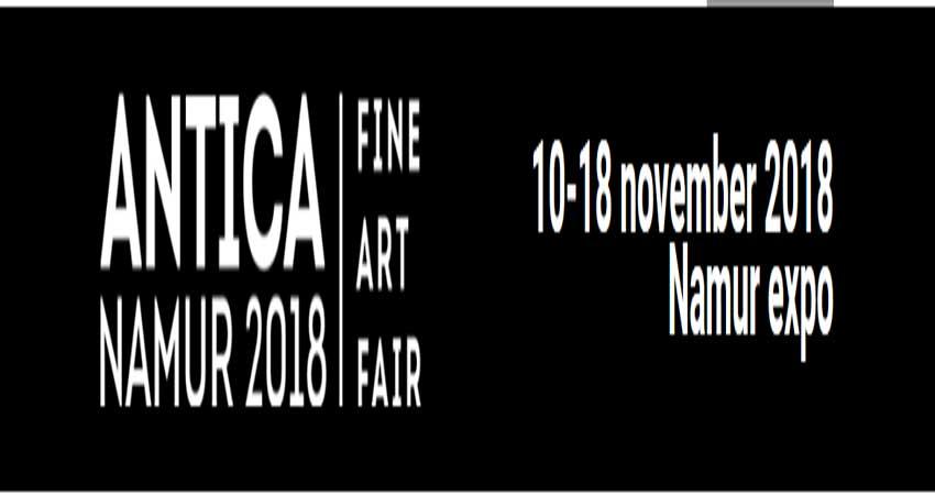 نمایشگاه هنر و عتیقه جات ANTICA NAMUR 2018 بلژیک