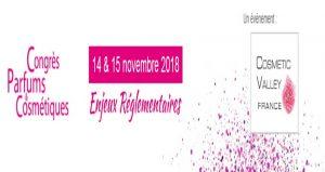 کنگره بین المللی عطر و لوازم آرایشی CONGRÈS PARFUMS & COSMÉTIQUES 2018 فرانسه