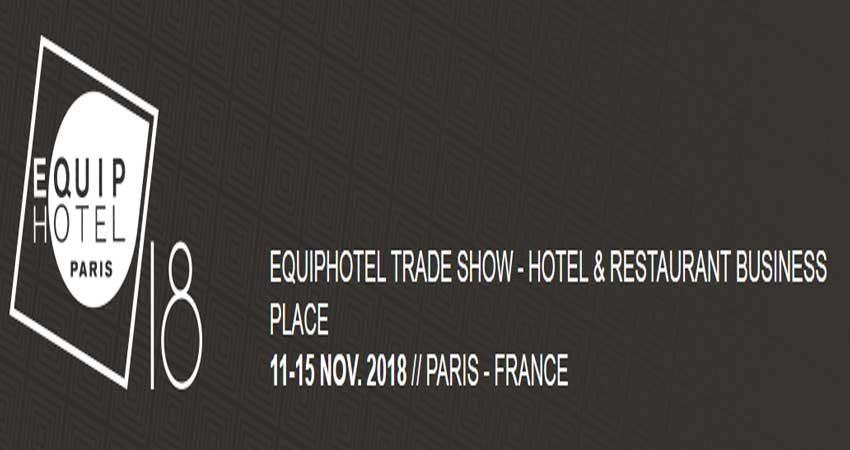 نمایشگاه بین المللی هتلداری و رستوران SALON EQUIP'HOTEL PARIS 2018 فرانسه
