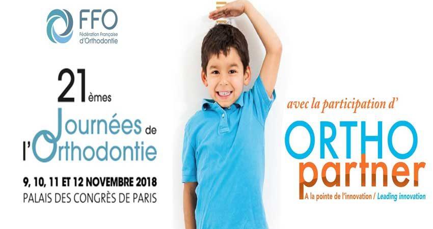 کنگره ارتودنسی JOURNÉES D'ORTHODONTIE 2018 فرانسه