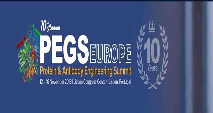 کنفرانس داروهای پروتئینی بیوتکنولوژی PEGS EUROPE 2018 پرتغال