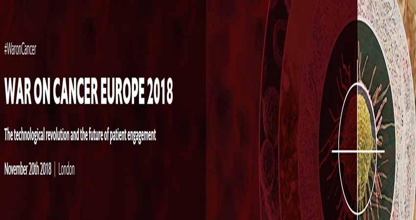 کنفرانس بین المللی سرطان WAR ON CANCER CONFERENCE – MIDDLE EAST 2018 انگلستان