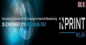 نمایشگاه بین المللی تکنولوژی چاپ INPRINT ITALY 2018 ایتالیا