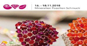 نمایشگاه فسیل و سنگ قیمتی MINERALIEN UND FOSSILLIEN SCHMUCK 2018 آلمان