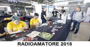 نمایشگاه تجهیزات رادیویی ، الکترونیک و کامپیوتر RADIOAMATORE 2 2018 ایتالیا