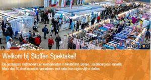 نمایشگاه پارچه و منسوجات STOFFEN SPEKTAKEL MONS 2018 بلژِیک