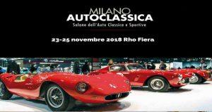 نمایشگاه ماشین های کلاسیک MILANO AUTOCLASSICA 2018 ایتالیا