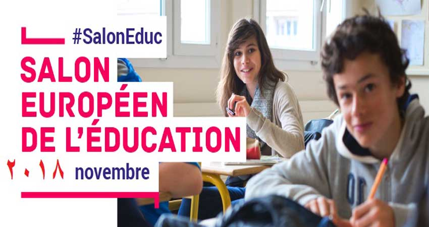 نمایشگاه زبان ، آموزش ، دانشگاه و نشر LE SALON EUROPÉEN DE L'ÉDUCATION 2018 فرانسه