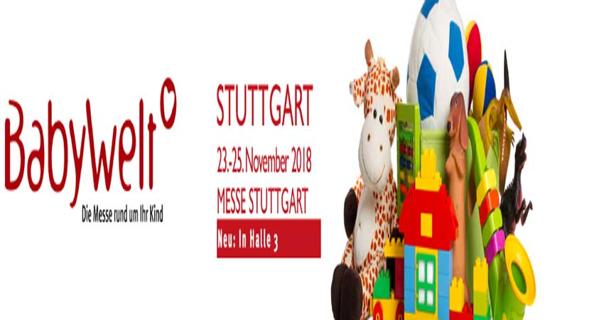 نمایشگاه جهان نوزاد BABYWELT STUTTGART 2018 آلمان