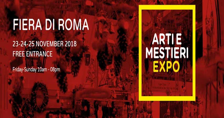 نمایشگاه صنایع دستی و آشپزی ARTI & MESTIERI EXPO 2018 ایتالیا