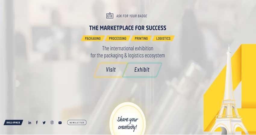 نمایشگاه صنعت چاپ و بسته بندی ALL4PACK PARIS 2018 فرانسه