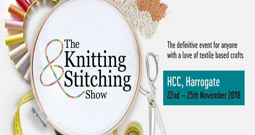 نمایشگاه پارچه و ریسندگی THE KNITTING & STITCHING SHOW – HARROGATE 2018 انگلیس