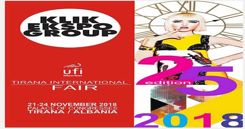 نمایشگاه بین المللی تیرانا PANAIR NDËRKOMBËTAR 2018 آلبانی