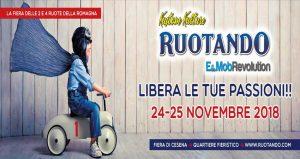 نمایشگاه خودرو ، موتور سیکلت ، دوچرخه و لوازم جانبی RUOTANDO 2018 ایتالیا