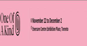 نمایشگاه کریسمس و صنایع دستی و هنری ONE OF KIND SHOW & SALE 2018 کانادا