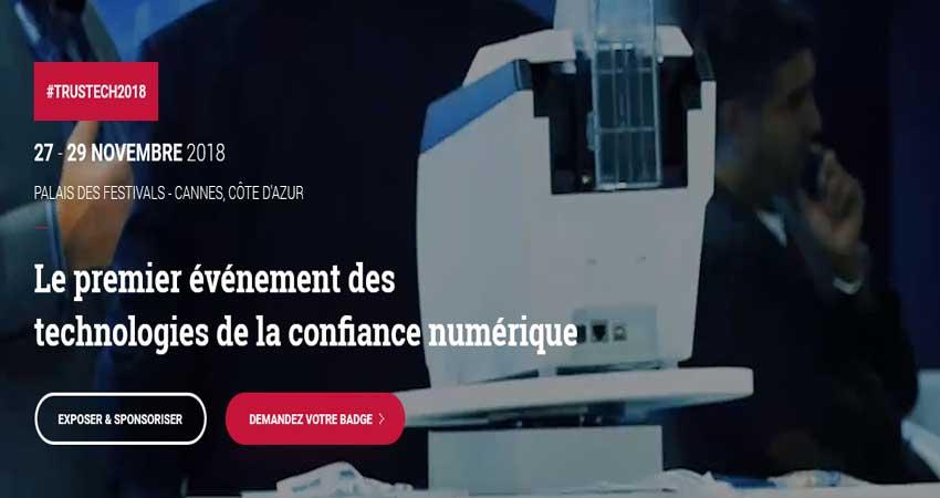 کنفرانس آموزشی شناسایی راه های پرداخت امن و امنیت TRUSTECH 2018 فرانسه