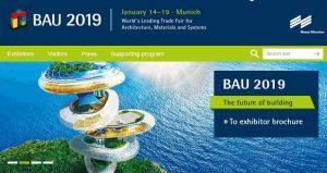 نمایشگاه بین المللی مصالح ساختمانی BAU 2019 آلمان