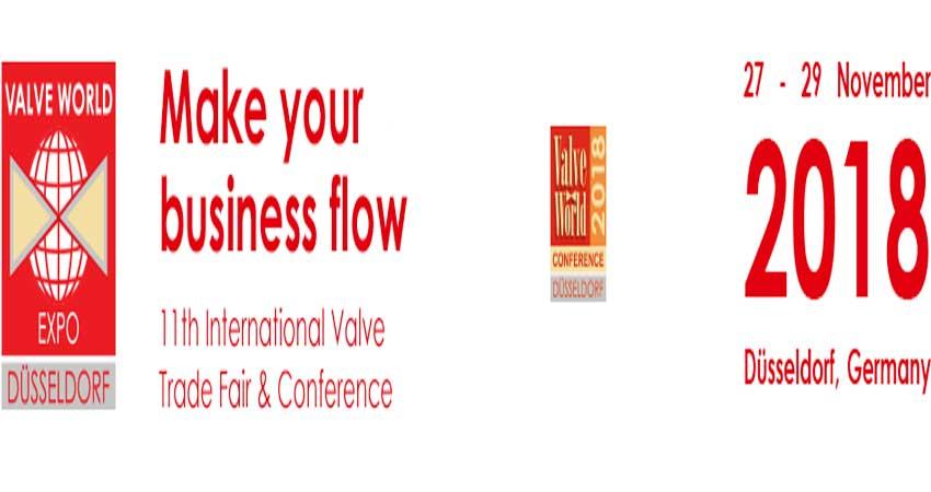 کنفرانس و نمایشگاه تخصصی لوله و شیرآلات VALVE WORLD 2018 آلمان