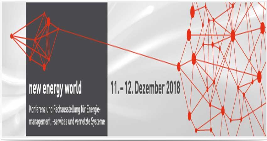 نمایشگاه بین المللی انرژی NEW ENERGY WORLD 2018 آلمان