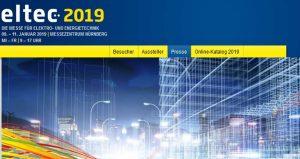 نمایشگاه تجاری برق و الکترونیک ELTEC NÜRNBERG 2019 آلمان