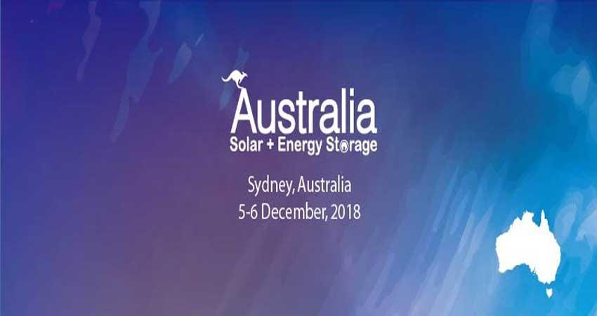 نمایشگاه و کنفرانس ذخیره انرژی خورشیدی AUSTRALIA SOLAR + ENERGY STORAGE استرالیا