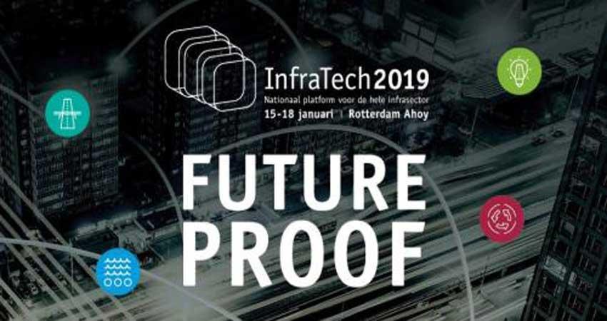 نمایشگاه مهندسان عمران، ساخت و ساز جاده INFRATECH 2019 هلند