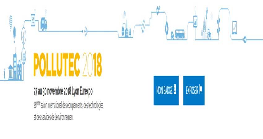 نمایشگاه راه حل های چالش های زیست محیطی و اقتصادی POLLUTEC 2018 فرانسه