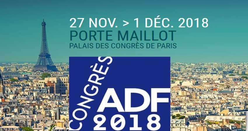 کنگره و نمایشگاه محصولات وتجهیزات دندانپزشکی ADF CONGRES 2018 فرانسه