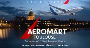 رویداد بین المللی صنعت هوافضا AEROMART TOULOUSE 2018 فرانسه