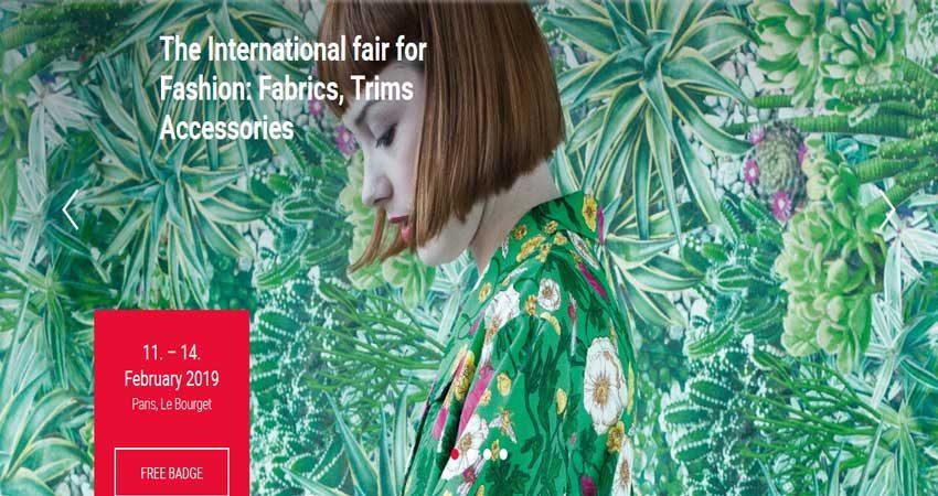 نمایشگاه و همایش صنایع نساجی و پارچه و مد TEXWORLD 2019 فرانسه