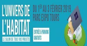 نمایشگاه خانه، طراحی و باغچه L'UNIVERS DE L'HABITAT – TOURS 2019 فرانسه