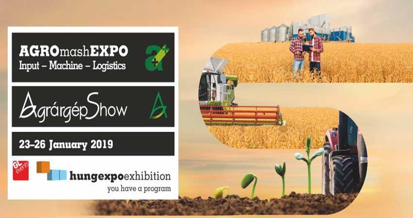 نمایشگاه بین المللی کشاورزی و ماشین آلات AGRO+MASHEXPO 2019 مجارستان