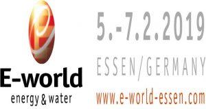 نمایشگاه انرژی و منابع طبیعی E-WORLD OF ENERGY 2019 آلمان