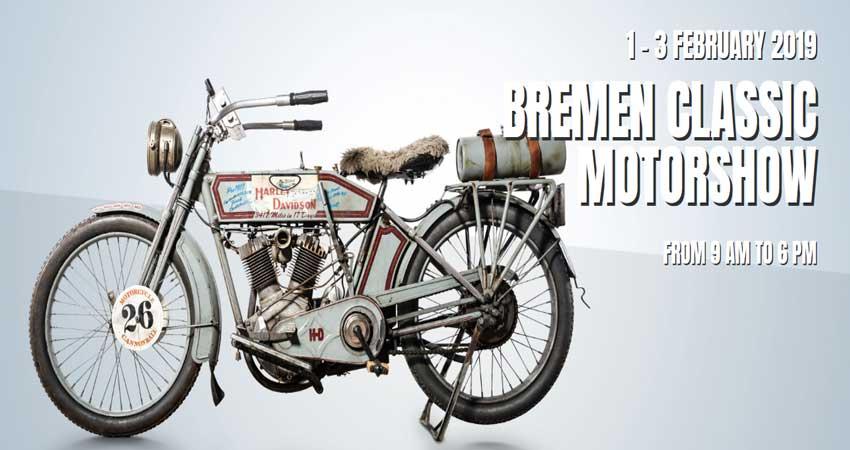 نمایشگاه خودروهای کلاسیک BREMEN CLASSIC MOTORSHOW 2019 آلمان