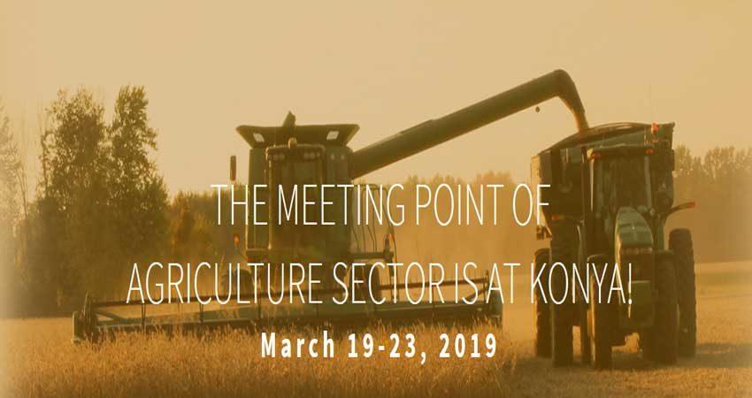 نمایشگاه کشاورزی KONYA AGRICULTURE 2019 ترکیه