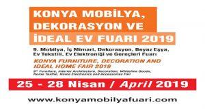 نمایشگاه مبلمان و دکوراسیون KONYA FURNITURE AND DECORATION FAIR 2019 ترکیه