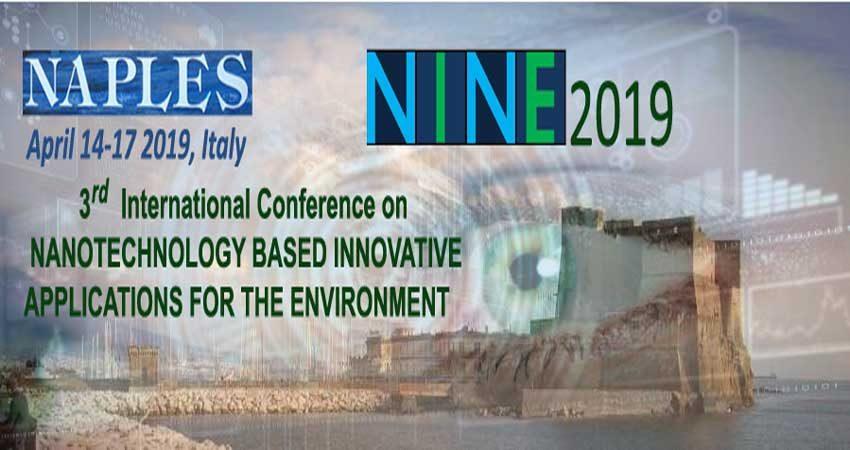 کنفرانس بین المللی فناوری نانو برای محیط زیست NINE 2019 ایتالیا