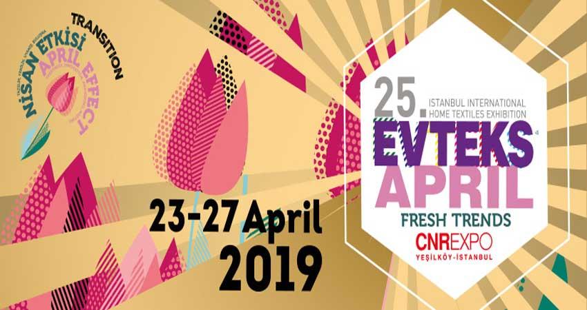 نمایشگاه منسوجات EVTEKS – HOME TEXTILE 2019 ترکیه